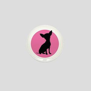 Polka Dot Chihuahua - Mini Button
