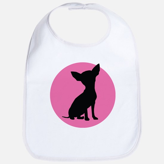 Polka Dot Chihuahua - Bib