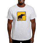 Elephant Crossing Light T-Shirt