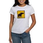 Elephant Crossing Women's T-Shirt