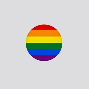 Rainbow Gay Pride Flag Mini Button