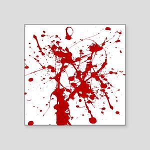 Red Splatter Sticker
