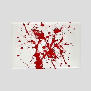 Red Splatter Magnets