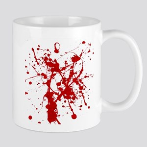 Red Splatter Mugs