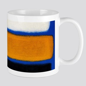 ROTHKO blue orange blank Mugs