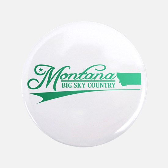 """Montana State of Mine 3.5"""" Button"""