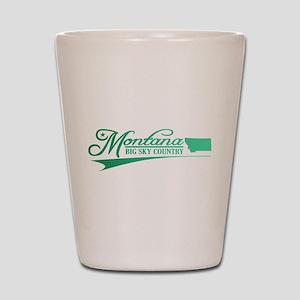 Montana State of Mine Shot Glass