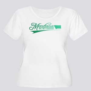 Montana State of Mine Plus Size T-Shirt