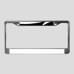 Yin Yang Shebang License Plate Frame
