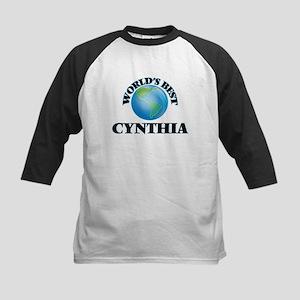 World's Best Cynthia Baseball Jersey
