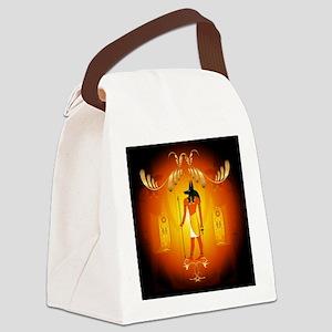 Anubis Canvas Lunch Bag
