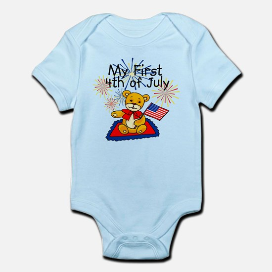 My First 4th of July Bear bodysuits / Creeper