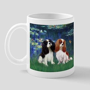 Lilies (5) & Cavalier Pair Mug