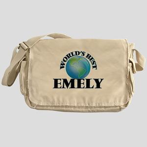 World's Best Emely Messenger Bag