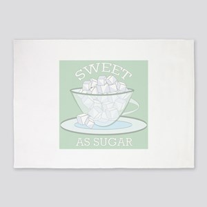 Sweet As Sugar 5'x7'Area Rug