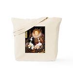 The Queens Cavalier Pair Tote Bag