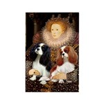 The Queens Cavalier Pair Rectangle Magnet (10 pack
