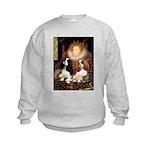 The Queens Cavalier Pair Kids Sweatshirt