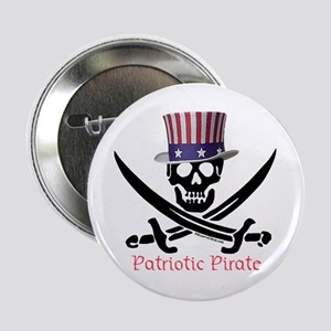 Patriotic Pirate (C) Button
