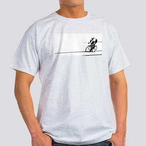 Cyclist Illustration T-Shirt