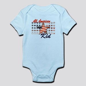 All American Kid Infant bodysuits