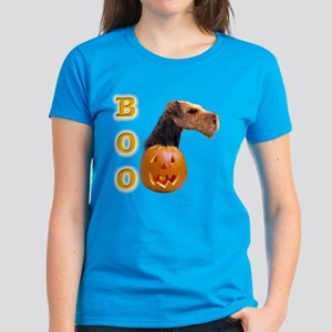 Airedale Boo Women's Dark T-Shirt