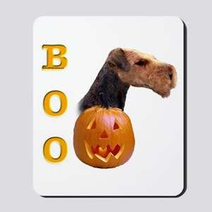 Airedale Boo Mousepad