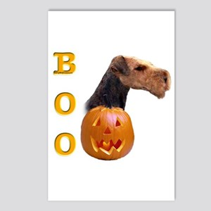 Airedale Boo Postcards (Package of 8)