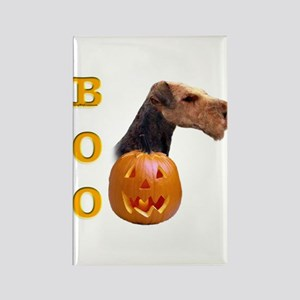Airedale Boo Rectangle Magnet