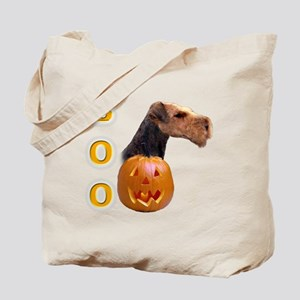 Airedale Boo Tote Bag