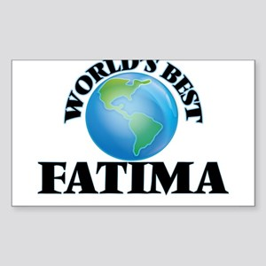 World's Best Fatima Sticker