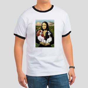 Mona's 2 Cavaliers Ringer T