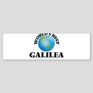 World's Best Galilea Bumper Sticker
