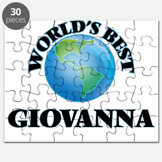 World's Best Giovanna Puzzle