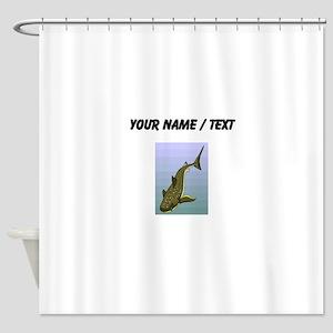 Custom Whale Shark Shower Curtain