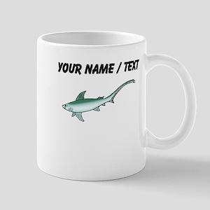 Custom Thresher Shark Mugs
