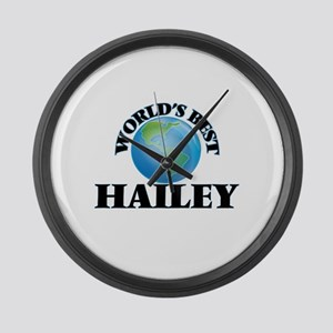 World's Best Hailey Large Wall Clock