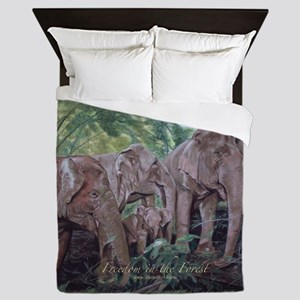 Freedom in the Forest Queen Duvet