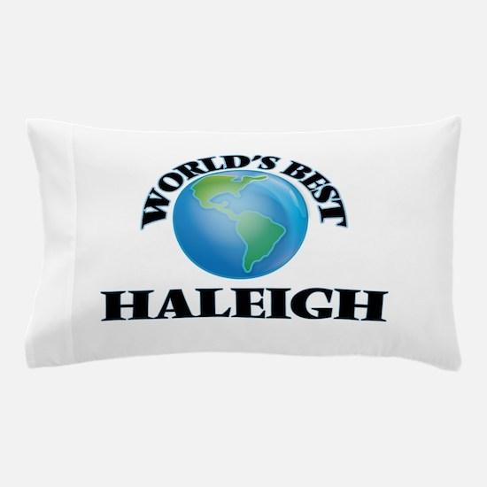 World's Best Haleigh Pillow Case