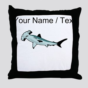 Custom Hammerhead Shark Throw Pillow