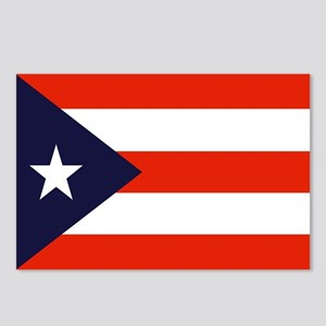 Puerto Rican Flag Postcards (8)