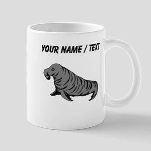 Custom Elephant Seal Mugs
