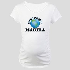 World's Best Isabela Maternity T-Shirt