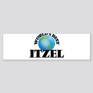 World's Best Itzel Bumper Sticker