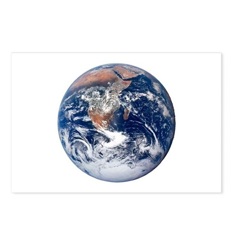 Earth From Space Postcards (Package of 8)