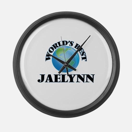 World's Best Jaelynn Large Wall Clock