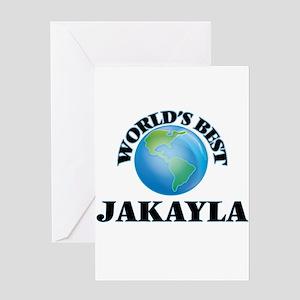 World's Best Jakayla Greeting Cards