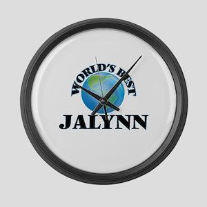 World's Best Jalynn Large Wall Clock