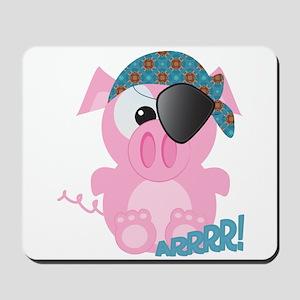 Cute Goofkins Piggy Pig Pirate Mousepad