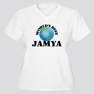 World's Best Jamya Plus Size T-Shirt